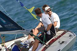 Mathieu Richard during qualifying session 2 of the Argo Group Gold Cup 2010. Hamilton, Bermuda. 6 October 2010. Photo: Subzero Images/WMRT