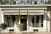 Max Mara fashion boutique shop in the fashionable area of Pau in the Pyrenees, France