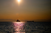 Greek navy ship in Saloniki