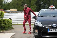 Geoffrey Kondogbia - 01.06.2015 -Equipe de France - Arrivee des joueurs a Clairefontaine<br /> Photo : Andre Ferreira / Icon Sport