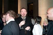 SIMON ENGLISH, Turner Prize 2010. Tate Britain. Millbank. London. 6 December 2010. -DO NOT ARCHIVE-© Copyright Photograph by Dafydd Jones. 248 Clapham Rd. London SW9 0PZ. Tel 0207 820 0771. www.dafjones.com.