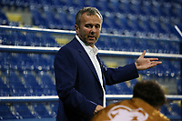 PODGORICA, MONTENEGRO - JUNE 07: Dejan Savicevic giving instructions to the players during the 2020 UEFA European Championships group A qualifying match between Montenegro and Kosovo at Podgorica City Stadium on June 7, 2019 in Podgorica, Montenegro MB Media