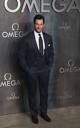Tate Modern, London, April 26th 2017. David Gandy arrives at the Tate Modern in London for the 'Lost In Space' 60th anniversary event for the Omega Speedmaster watch.