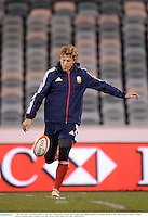 17 June 2013; Billy Twelvetrees, British & Irish Lions, during kickers practice ahead of their game against Brumbies on Tuesday. British & Irish Lions Tour 2013, Kickers Practice,  Canberra Stadium, Bruce, Canberra, Australia. Picture credit: Stephen McCarthy / SPORTSFILE