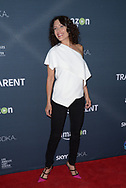 LISA EDELSTEIN at the premiere of Amazon's 'Transparent' season two at the Pacific Design Center in Los Angeles, California