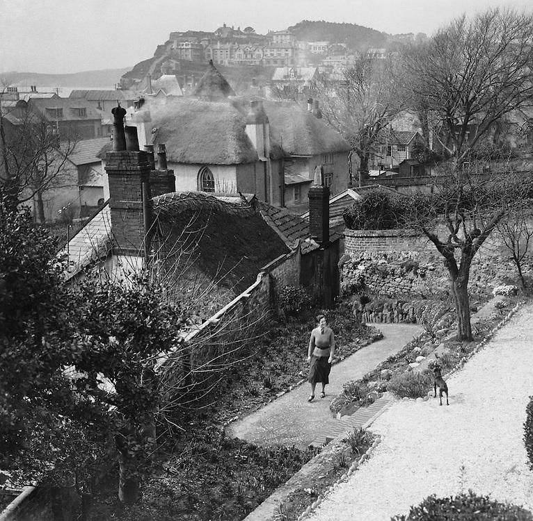 Mrs. Evans (Joyce Denys), Budleigh Salterton, Devon, England, 1932