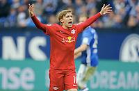 Emil Forsberg (Leipzig)<br /> Gelsenkirchen, 23.04.2017, Fussball, Bundesliga, FC Schalke 04 - RB Leipzig<br /> <br /> Norway only