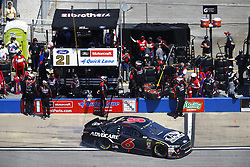 April 29, 2018 - Talladega, Alabama, United States of America - Trevor Bayne (6) brings his car down pit road for service during the GEICO 500 at Talladega Superspeedway in Talladega, Alabama. (Credit Image: © Chris Owens Asp Inc/ASP via ZUMA Wire)