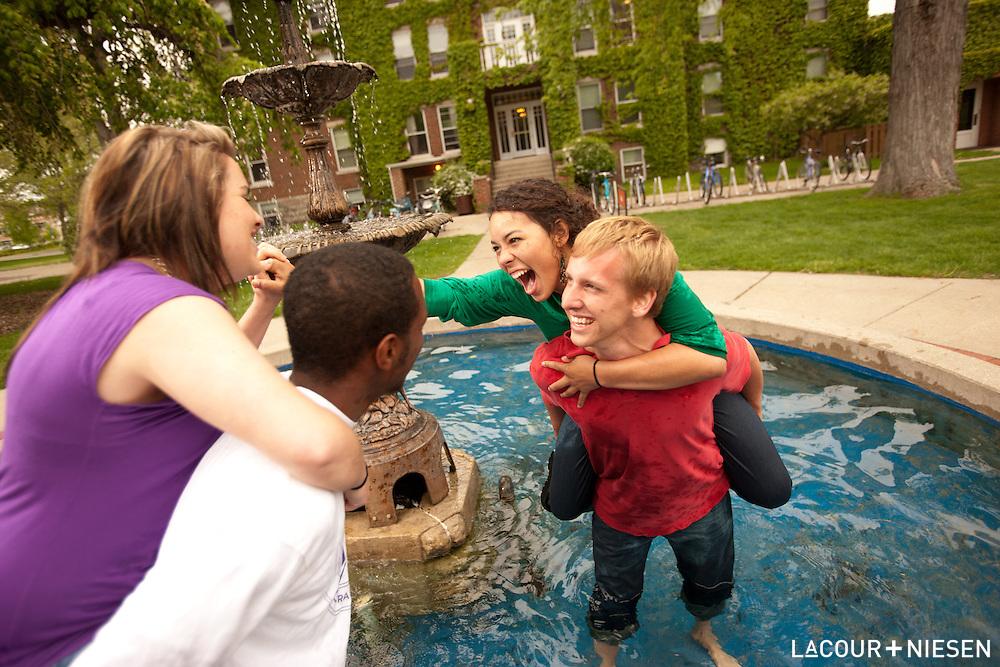 Viewbook photography for Goshen College, Goshen, Ind.