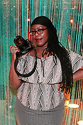 Brooklyn, New York-June 1- United States: Photographic Artist Layla Barrayn attends the Brooklyn Museum's Fashion Night: Modern Black Dandies celebrating the art and style in honor of Author Shantrelle P. Lewis's new book ' Dandy Lion: The Black Dandy and Street Style held at the Brooklyn Museum on June 1, 2017 in Brooklyn, New York. (Photo by Terrence Jennings/terrencejennings.com)