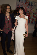 JONAH FREUD; DAISY LOWE, Royal Academy Summer exhibition party. Piccadilly. 7 June 2016