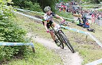 Sykkel / terrengsykkel / Mountain Bike<br /> 01.06.2014<br /> UCI World Cup<br /> Foto: imago/Digitalsport<br /> NORWAY ONLY<br /> <br /> Gunn-Rita Dahle Flesjå Norwegen