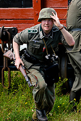Bowes Railway Springwell Village 1940s weekend Battle reenatment <br /> <br />  Copyright Paul David Drabble<br />  30 June 2019<br />  www.pauldaviddrabble.co.uk