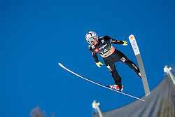 Sebastian Colloredo (ITA) during the Qualification Round of the Ski Flying Hill Individual Competition at Day 1 of FIS Ski Jumping World Cup Final 2019, on March 21, 2019 in Planica, Slovenia. Photo by Masa Kraljic / Sportida