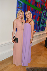 Left to right, MEREDITH OSTROM and AMBER LE BON at the Royal Academy of Arts Summer Exhibition Preview Party at The Royal Academy of Arts, Burlington House, Piccadilly, London on 7th June 2016.