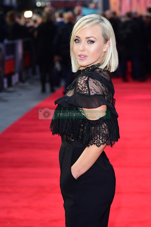 Jorgie Porter attending the European premiere of Rampage, held at the Cineworld in Leicester Square, London. Picture date: Wednesday April 11, 2018. See PA story SHOWBIZ Rampage. Photo credit should read: Ian West/PA Wire
