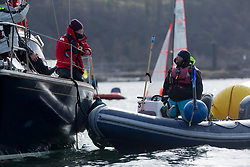 The RYA Youth National Championships Day <br /> Day 5<br /> <br /> Race committee, management<br /> <br /> Images: Marc Turner / RYA<br /> <br /> For further information contact:<br /> <br /> Richard Aspland, <br /> RYA Racing Communications Officer (on site)<br /> E: richard.aspland@rya.org.uk<br /> m: 07469 854599