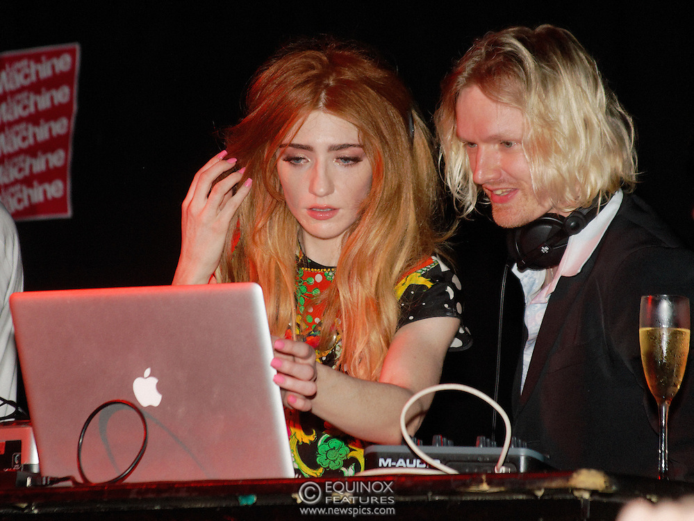 London, United Kingdom - 5 June 2011.Girls Aloud band member Nicola Roberts DJ'ing to launch her new single Beat Of My Drum at the Hoxton Square Bar and Kitchen, Shoreditch, London, England, UK. .Copyright: ©2011 Equinox Licensing Ltd. +448700 780000.Contact: Equinox Features.Date Taken: 20110605.Time Taken: 002725+0000.www.newspics.com