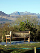 Seat of tranquility at The Castlerosse Hotel,  Killarney, Kerry, ireland.<br /> PHOTO: Don MacMonagle<br /> macmonagle.com