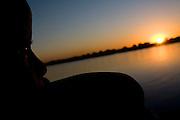 Sao Francisco_MG, Brasil...Rio Sao Francisco, o rio da integracao nacional. ..The Sao Francisco river, It is an important river for Brazil, called the river of national integration. ..Foto: LEO DRUMOND / NITRO