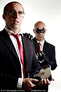 portrait for movie poster with Kevin Major and Martial Moretto