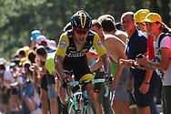 Primoz Roglic (SLO - Team LottoNL - Jumbo) during the 105th Tour de France 2018, Stage 14, Saint-Paul-trois-Chateaux - Mende (188 km) on July 21th, 2018 - Photo Kei Tsuji / BettiniPhoto / ProSportsImages / DPPI