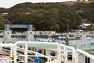 """Till ön Tashirojima i Japan kan man bara åka med en mindre färja.<br />  <br /> Tashirojima kallas för """"kattön"""" eftersom här lever hundratals katter tillsammans med ca 50 personer.   <br /> <br /> Ishinomaki, Miyagi Prefecture, Japan. <br /> <br /> Fotograf: Christina Sjögren<br /> Copyright 2018, All Rights Reserved"""