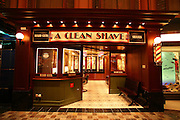Royal Caribbean International's  Independence of the Seas, the world?s largest cruise ship. ..Interior and exterior features photos...'A Clean Shave' barber shop on the Royal Promenade. *** Local Caption *** 'A Clean Shave' barber shop on the Royal Promenade.
