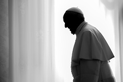 Pope Francis meets with President of Fiji Jioji Konousi Konrotea at the Vatican on March 24, 2017. Photo by ABACAPRESS.COM  | 586953_007 Rome Vatican Vatican (or Holy See)