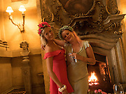 HANNAH CARR-ELLISON; GRANIA HOWARD, Bella Howard 30th birthday, Castle Howard, Dress code: Flower Fairies and Prince Charming, 3 September 2016