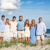 Huggins family and surprise proposal