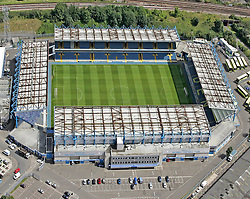 Image ©Licensed to i-Images Picture Agency. Aerial views. United Kingdom.<br /> The Den, home of Millwall FC. Picture by i-Images