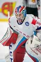 Ishockey<br /> VM 2015<br /> Norge v Hviterussland<br /> 12.05.2015<br /> Foto: imago/Digitalsport<br /> NORWAY ONLY<br /> <br /> Goalie Lars Haugen (NOR)