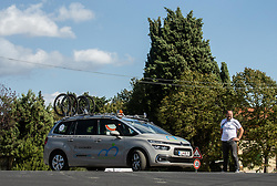 Martin Hvastija of Team Slovenia during Practice session at UCI Road World Championship 2020, on September 25, 2020 in Imola, Italy. Photo by Vid Ponikvar / Sportida