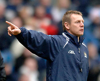 Photo: Glyn Thomas.<br />Manchester City v Middlesbrough. The Barclays Premiership. 02/04/2006.<br /> City's manager Stuart Pearce.