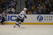 in action during a game between the Los Angeles Kings and the St. Louis Blues on Thursday March 28, 2013 at the Scottrade Center in downtown St. Louis.