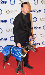 """Battersea, London, November 3rd 2016.  Celebrities and their dogs attend The Evolution at Battersea Park to attend The Battersea Dogs and Cats Home """"Collars and Coats Ball"""". PICTURED: Craig Revel-Horwood"""
