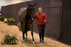 Werth Isabell, GER, Weihegold OLD<br /> Training session<br /> FEI World Cup Dressage Final, Omaha 2017 <br /> © Hippo Foto - Jon Stroud<br /> 29/03/2017