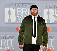 The 40th BRIT Awards show  Tuesday 18th February at The O2 Arena in London.<br />Tom Walker