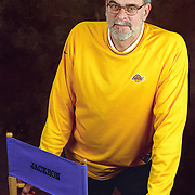 Los Angeles Laker coach Phil Jackson took on the Lakers in 2000 after leading the Bulls to six NBA championships.