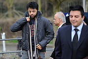 Businessman Shrien Dewani arrives to attend his bail hearing at Belmarsh Magistrates' Court in London. Shrien Dewani is accused by South Africa of hiring a hitman to murder his 28-year-old wife Anni, a former model and Swedish national, who was shot dead last year whilst on honeymoon.