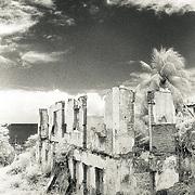 Tropical ruins in Olinda, Brazil