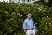 SOUTH THOMASTON, ME 8/15/17 3:13:09 PM <br /> Edward Blum, the architect of many lawsuits challenging affirmative action, at his home in South Thomaston, Maine, on Tuesday, August 15, 2017.  Blum has also challenged provisions of the Voting Rights act, most notably Fisher v. UTexas, decided against him by the Supreme Court last year, and now Students For Fair Admissions, claiming Harvard discriminates against Asians.<br /> Sarah Rice for The New York Times
