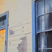 Maintenance Building Facade - Pigeon Point Lighthouse - Santa Cruz County, CA