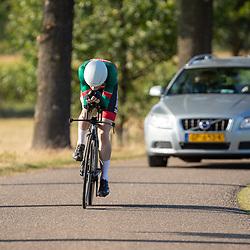 13-09-2020: Wielrennen: NK tijdrijden nieuwelingen en junioren: Chaam <br />Tjalle de Bruin
