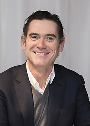 May 4, 2017 - London, United Kingdom - BILLY CRUDUP promotes 'Alien: Covenant.' William Gaither 'Billy' Crudup (born July 8, 1968) is an American actor. He is known for supporting roles in films including Almost Famous, Big Fish, Mission: Impossible III, Watchmen, Public Enemies and Spotlight, as well as lead roles in films including Without Limits, Jesus' Son, Dedication and the animated film Princess Mononoke. In 2017 Crudup is set to appear i science-fiction film Alien: Covenant, and in superhero film, Justice League as Doctor Henry Allen. He has also had an extensive stage acting career, appearing mostly on Broadway. He has been nominated four times for a Tony Award for his acting, and won once, for his role in Tom Stoppard's The Coast of Utopia in 2007. The Flash (2020), Justice League (2017), Alien Covenant (2017), Gypsy (TV Series 2017), 1 Mile to You (2017). (Credit Image: © Armando Gallo/ZUMA Studio)