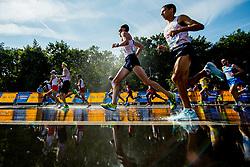 August 12, 2018 - Berlin, GERMANY - 180812 Athletes compete in the men's marathon final during the European Athletics Championships on August 12, 2018 in Berlin..Photo: Vegard Wivestad GrÂ¿tt / BILDBYRN / kod VG / 170206 (Credit Image: © Vegard Wivestad Gr¯Tt/Bildbyran via ZUMA Press)