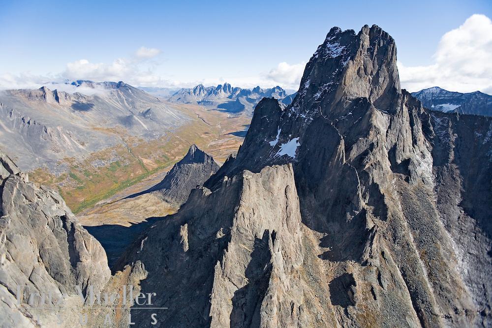 Aerial views of Tombstone Territorial Park, Yukon