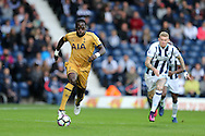 Moussa Sissoko of Tottenham Hotspur in action. Premier league match, West Bromwich Albion v Tottenham Hotspur at the Hawthorns stadium in West Bromwich, Midlands on Saturday 15th October 2016. pic by Andrew Orchard, Andrew Orchard sports photography.