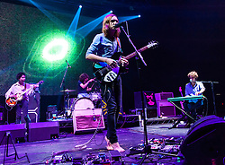 © Licensed to London News Pictures. 30/10/2012. London, UK.   Tame Impala performing live at O2 Academy Brixton. Tame Impala is a band from Perth, Australia,  the psychedelic rock project of Kevin Parker.   Photo credit : Richard Isaac/LNP